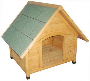 Hundehütte aus Holz wasserdicht wetterfest Hundehaus Hundehöhle Hund Tierhaus