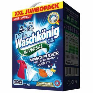 Der Waschkönig C.G. Universal Waschmittel Pulver 100WL 7,5kg
