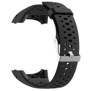 Polar M400 / M430 Armband Silikon Schwarz