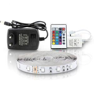 LED Streifen 10m Beleuchtung Lichterkette RGB LED Stripe Band Strip Fernbedienung