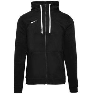 Nike Club 19 Fleece Hoodie-Jacke Herren Schwarz (AJ1313 010) Größe: M