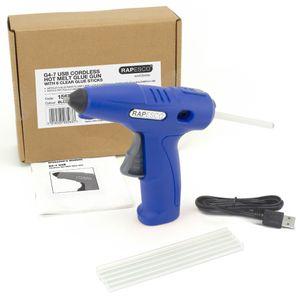 RAPESCO Akku-Heißklebepistole G4-7 schnurlos blau 4V