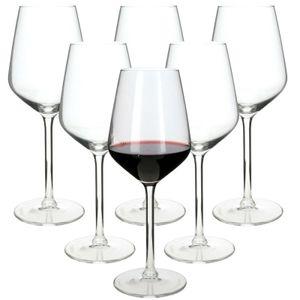 6 x Rotweingläser Weingläser 370ml Rotwein Glas Weinglas Weißweinglas Weißwein
