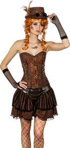 Damen Kostüm Steampunk Rock Karneval Fasching Gr.36