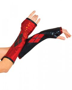 Suicide Squad Kostümzubehör Harley Quinn Arm Stulpen