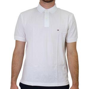 Tommy Hilfiger Regular Fit Poloshirt Herren Weiß (MW0MW04976100) Größe: XS (42-44)