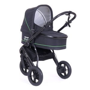 Knorr-Baby Kombikinderwagen HEAD SPORT3 Darkgrey-Green