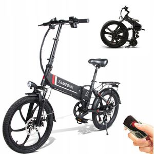 SAMEBIKE 20LVXD30 20Zoll E-BIKE, E Bike Herren, Ebike Mountainbike, Elektrofahrrad, Pedelec——350W/40V,Max 25km/h,Schwarz