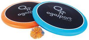 Schildkröt Ogo Sport Set Mezo, 2 extra große Ogo Softdiscs Ø38cm, 1 Ball, der beliebte Spiel-Klassiker