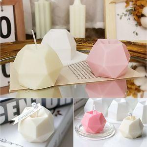 Kerze Silikon Diamantwürfel Kerzengießform Kerzenform Gießformen DIY Seifenform Silikon Schimmel Werkzeug für Kunsthandwerk