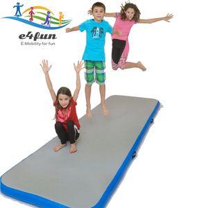 Airtrack, Air Track Matte aufblasbare 3 Meter Länge Trainingsmatte - Aufblasbare robuste Gymnastik Matte 300 x 100 x 10 cm