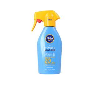 Sonnenschutzspray Sonnenlotion Sonnenmilch LSF 20 Protege & Broncea Nivea
