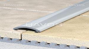 Übergangsprofil Ausgleichsprofil 60mm Alu eloxiert bronze selbstklebend C 02