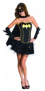 Rubie's 3 880557 L - Batgirl Corset Erwachsene Kostüm, Größe L