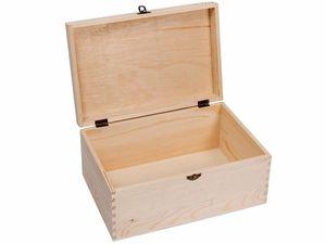 Rainbow GmbH Sammler Box Holz-Schatulle Truhe Schatzkiste Sortierbox Holz-Kiste