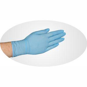 PAPSTAR Einmalhandschuhe     puderfrei Nitril Farbe Blau XL