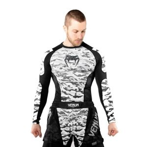 Venum Defender Rashguard LS Urban Camo - Größe: S