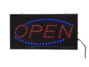 LED Schild Open Klassisch mit Animation 230 Volt  -#3860