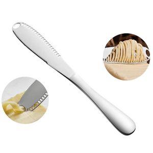 Multifunktions Edelstahl Butter Messer Creme Messer Westlichen Brot Marmelade Treuer Messer Creme Cutter Utensilien