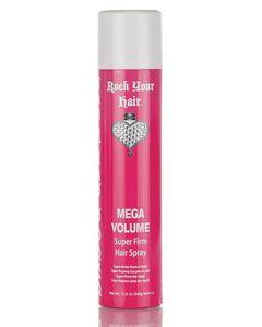 Rock Your Hair | MEGA Volume Spray | Ideal bei feinem Haar | KEIN verkleben