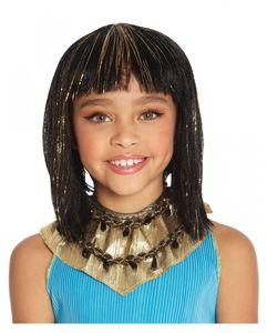 Kleopatra Kinderperücke 28cm für Fasching & Halloween