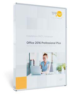 MS Office 2016 Professional 32 bit & 64 bit Vollversion - Original Aktivierungsschlüssel - mit DVD + Anleitung von TPFNet®