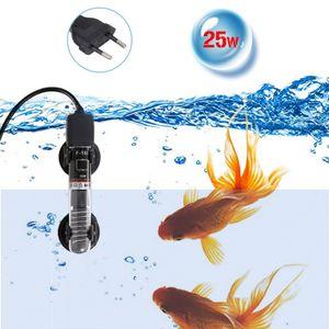 Mini Aquarium Heater Tauchautomatostatheizung Aquarium Wasserkocher Quarzrohr mit Saugnaepfen