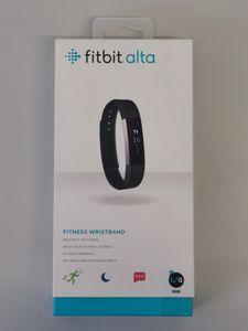 Fitbit Alta Fitness Armband L Schwarz