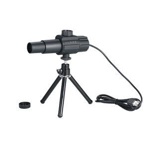 USB Smart Digital Teleskop Monokular 2MP 70X Zooming Vergroesserung Einstellbare skalierbare Kamera mit Stativ zum Fotografieren von Videoaufnahmen fuer Voegel Wildtiere Beobachten im Freien Sicherheitsueberwachung