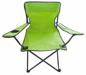 Campingstuhl in lime-grün