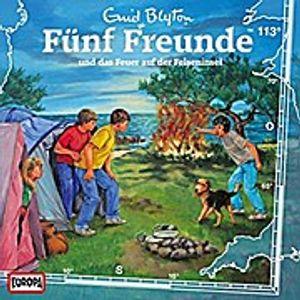Fünf Freunde-113/und das Feuer auf der Felseninsel