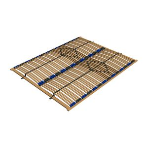 Ecolignum | Lattenrost VAO - 160x200 cm. | Lattenrahmen Birke (Furniert) - 84 Federholzleisten