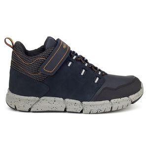 Geox Kinder Stiefel & Boots Outdoor Leder blau 36