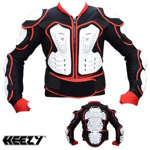 Protektorenjacke HEEZY® Protektoren Hemd Jacke Motocross Quad Ski Snowboard
