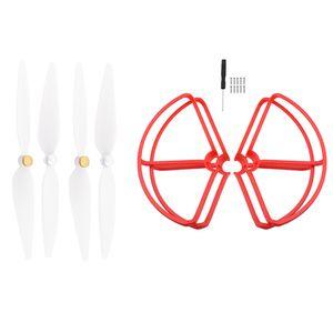 4 Stück Propellerschutzring Zubehör für Xiaomi Mi Drohne 4k rot wie beschrieben