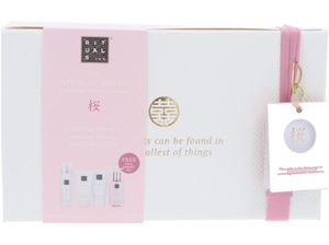 Rituals Sakura Set Shower Scrub 70ml/Hand Wash 110ml/Body Cream 70ml/Foaming Shower Gel 50ml
