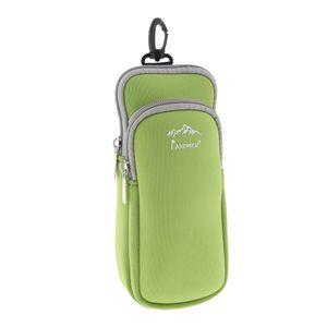 Wasserdicht Gürteltasche Sport Hüfttasche Klein Reisetasche Sporttasche Bauchtasche Reißverschluss Taschen Farbe Grün