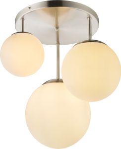 Globo Lighting JOEL Deckenleuchte nickel matt, 2xE27, 1581-3DR