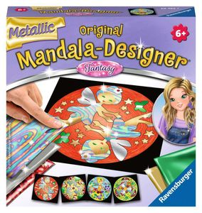 Metallic Mandala-Designer Fantasy Ravensburger 29762