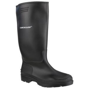 Dunlop 380PP Pricemaster Unisex Gummistiefel FS2683 (36 EU) (Schwarz)