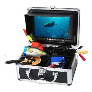 Lixada Portable 7-Zoll-LCD-Monitor Fischfinder Wasserdichte Unterwasserfischen Kamera 24 PCS LED-Lampen 15M Kabel fš¹r Meeresfischen