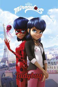 Miraculous Poster - Ladybug, Marinette Dupain-Cheng, Paris (91 x 61 cm)