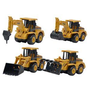 Bulldozer Gabelstapler Dumper \\u0026 Bagger Fahrzeug Für Kinder, Bauingenieur Modell Auto Spielzeug Für 7, 8, 9, 10 Jahre Alte Jungen \\u0026 Mädchen
