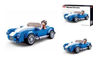 Sluban M38-B0706A - Baukasten: Model Bricks, Klassischer Sportwagen