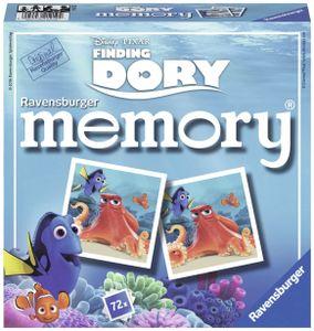 """CYE 21219 - Dory Memory, der Spieleklassiker fr alle """"Dory"""" Fans, Merkspiel fr 2-8 Spieler ab 4 Jahren"""
