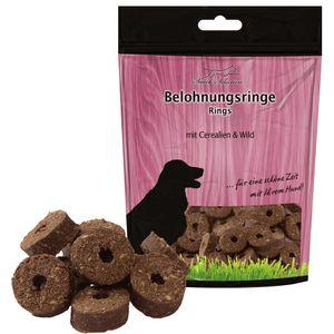 Schecker 3 x 500g Belohnungsringe Cerealien & Wild - leckere, weiche Leckerli für Hunde