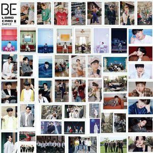 54-er/Box Kpop BTS Postkarten LOMO Karten, BTS 《BE》 LOMO Cards 88mm*57mm