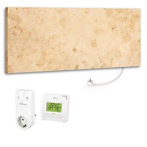 Marmony Infrarotheizung M800 PLUS Jura + Thermostat Set 800 Watt