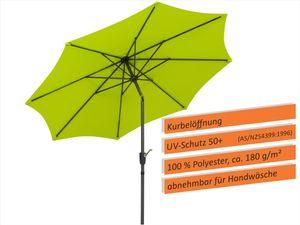 Schneider Sonnenschirm HARLEM 270/8 apfelgrün 640-78