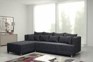 Schlafsofa Sofa Couch Ecksofa Eckcouch in Grau mit Schlaffunktion - Wien 2 - L